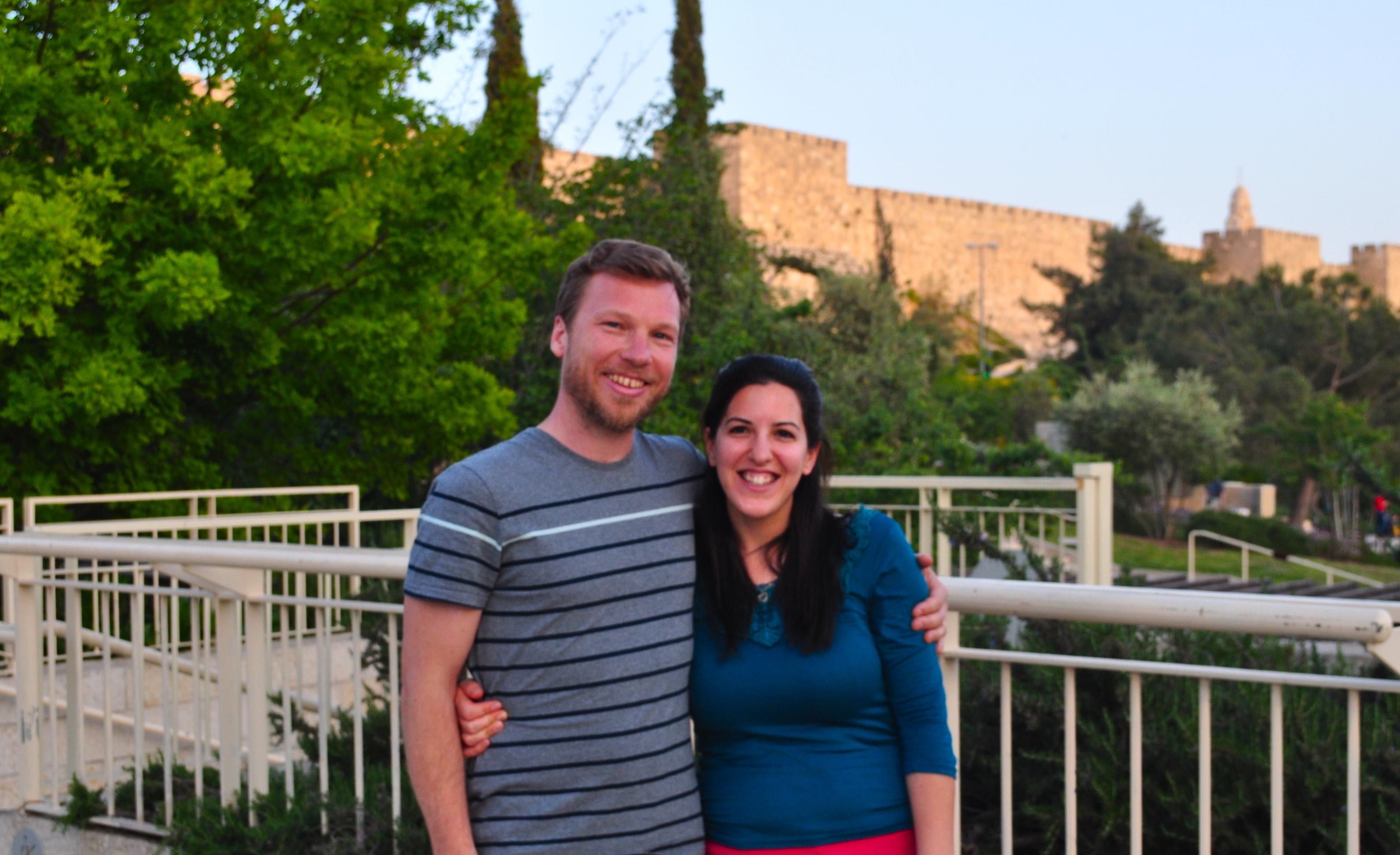 James and Liz (Jerusalem) - Edited